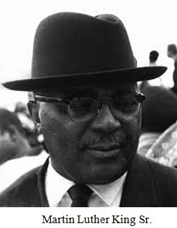 Image result for Grand father of Dr. Martin Luther King, Jr.