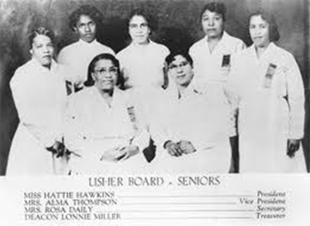 Image result for church usher board  in white